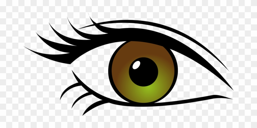 Eye Color Computer Icons Eyelash Human Eye - Green Eyes Transparent Background #1438685