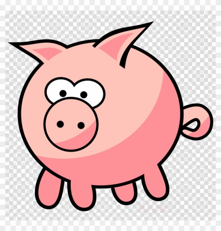 Farm Animals Clipart Livestock Clip Art - Cartoon Pig Png #1438991