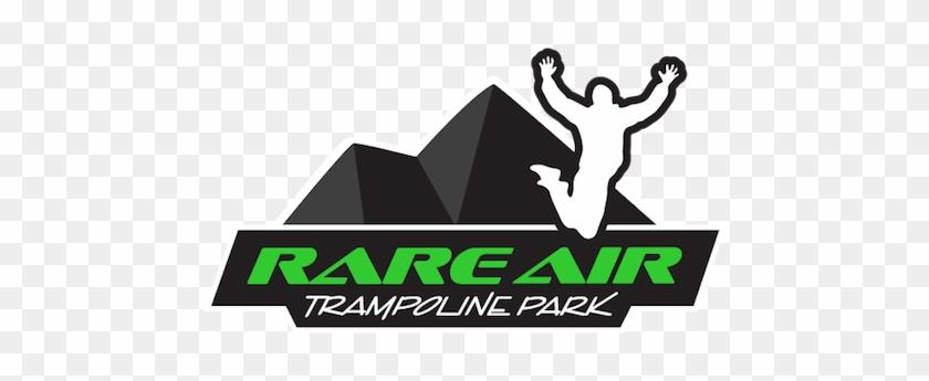 Rare Air Trampoline Park Redding - Rare Air Trampoline Park Logo #1439348