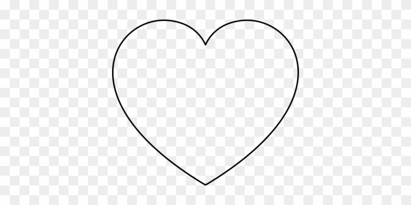 Coloring Book Heart Valentine's Day Shape - Valentines Day Heart Black And White #1439474