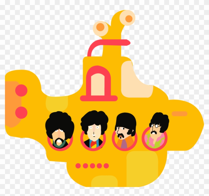The Beatles Vector Beatles Vector Yellow Submarine Free