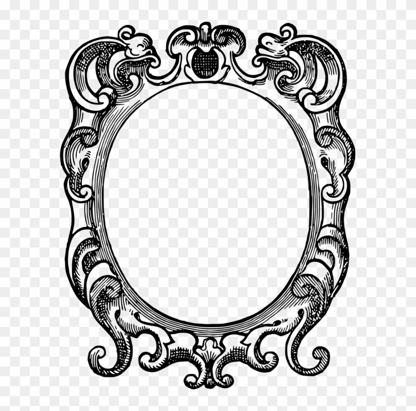 Picture Frames Ornament Drawing Computer Icons - Black Mirror: A Book Of Sayings #1440076
