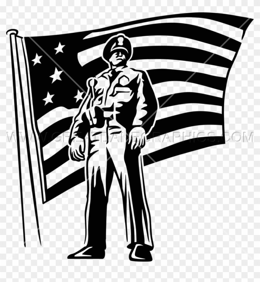 Saluting Police Officers Art Clipart Police Officer
