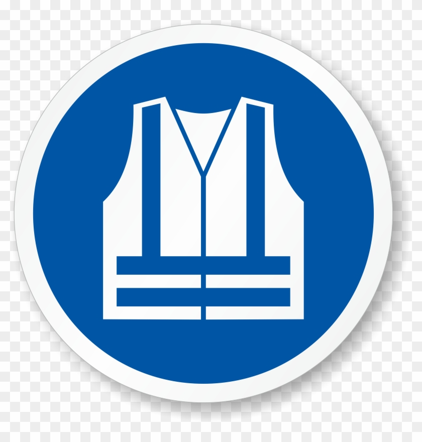 Zoom, Price, Buy - Safety Vest Must Be Worn #1442370