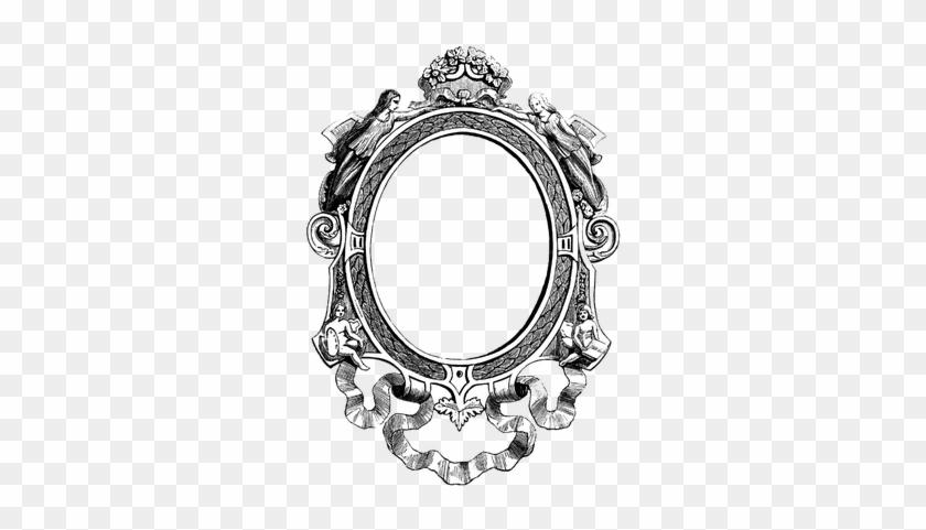 Vintage Ornate Frame Transparent Png Stickpng - Vintage Chick Altered Love Puzzle #1442842