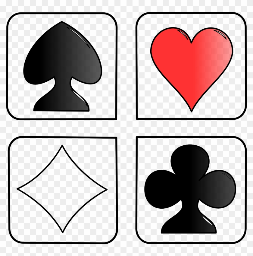 Playing - Cards Heart Diamond Spades #1442932