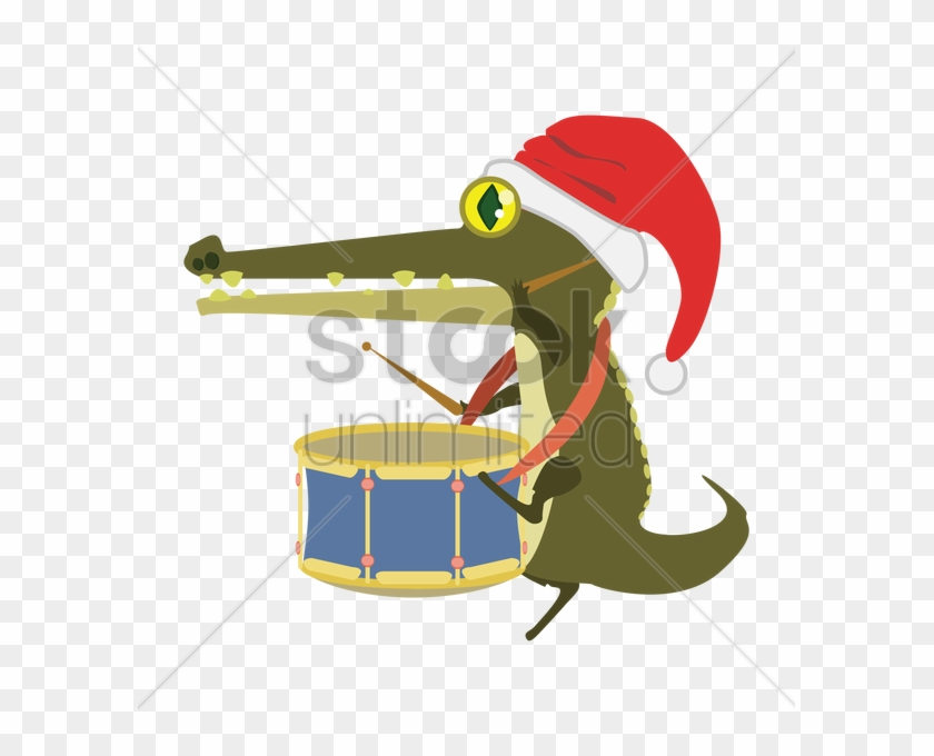 Alligator Playing Drums Clipart Alligators Crocodile - Alligators #1444531
