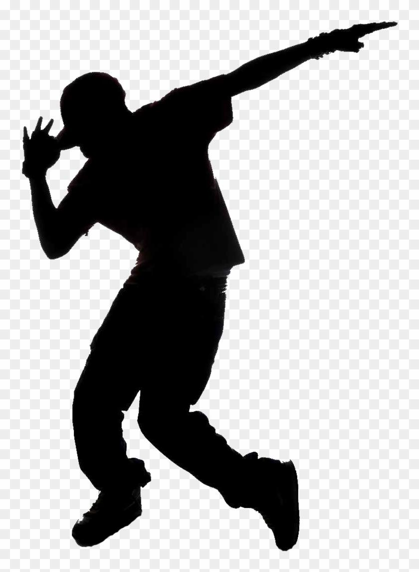 Yoga Pilates High Intesity Interval Training And - Hip Hop Dancer Silhouette #1444650