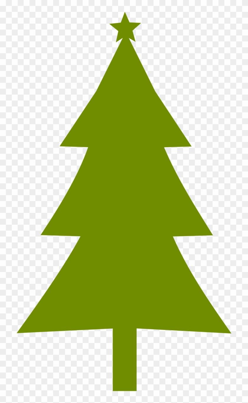 Medium Size Of Christmas Tree - Christmas Tree Silhouette #1444921