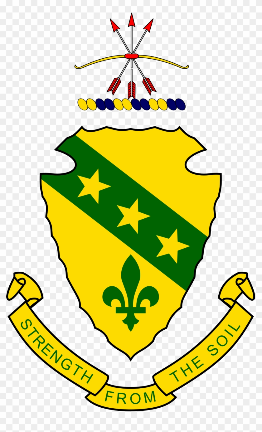 Green And Yellow Coat Of Arms #1445252