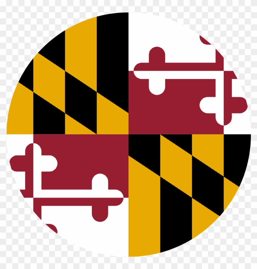 Maryland State Funding And Incentive Programs - Maryland State Flag Round #1446067