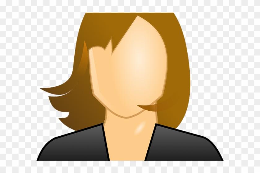 Girl Clipart Teacher - User Icon Female Male #1446972