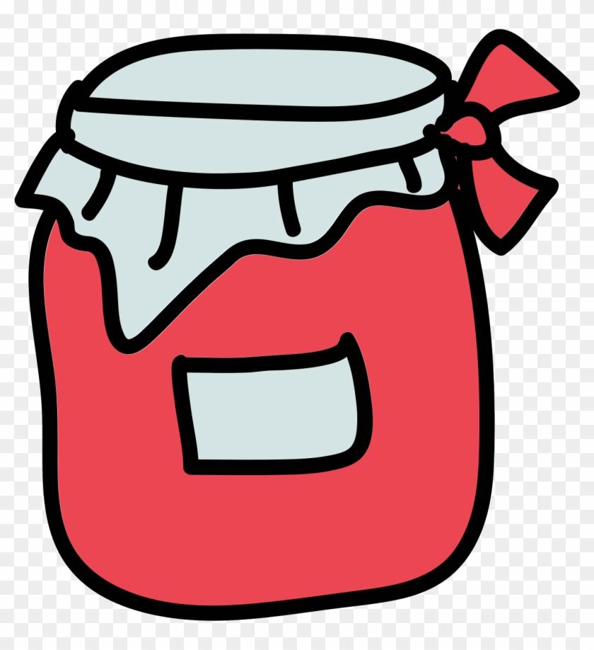 Jam Icon Free Download - Cartoon Picture Of Jar - Free