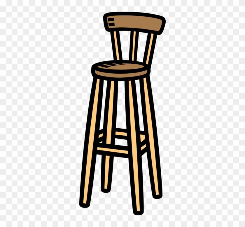 Free Download Bar Chair Clipart Chair Bar Stool Clip - Bar Chair Clipart #1447314