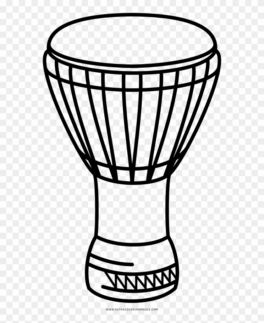 djembe coloring page music po instrument of african free transparent png clipart images download djembe coloring page music po