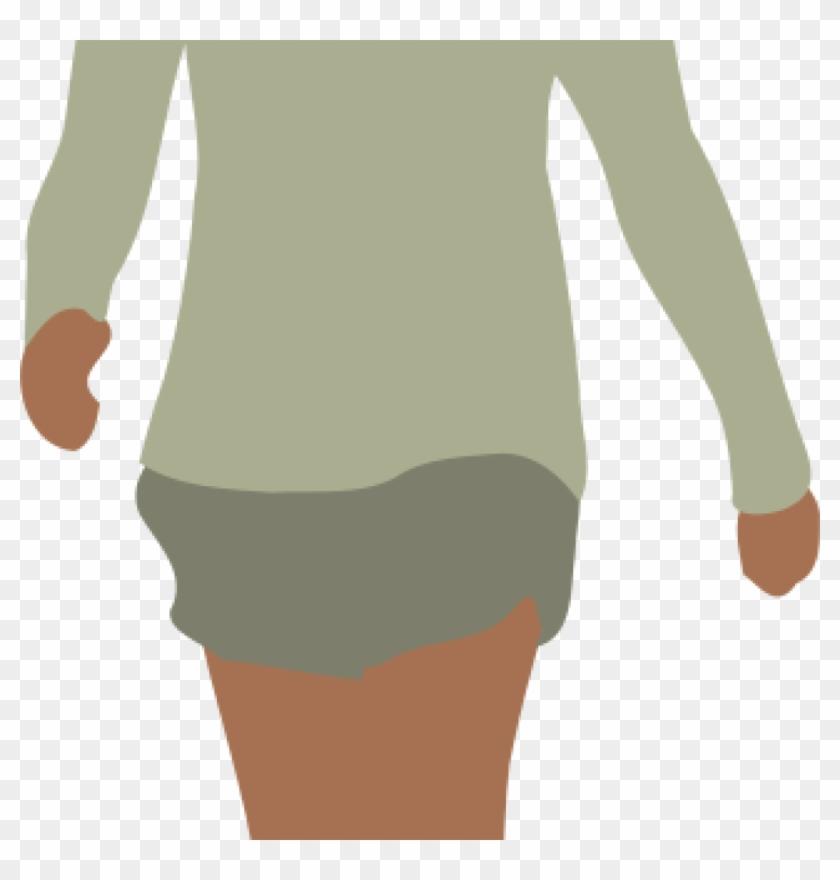 Human Clipart Images Free Clipart Faceless Woman Walking - Walking Woman #1448714