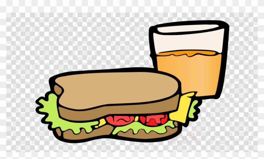 Jugos Y Sandwiches Dibujo Clipart Juice Egg Sandwich - Sandwiches And Orange Juice Clipart #1449757
