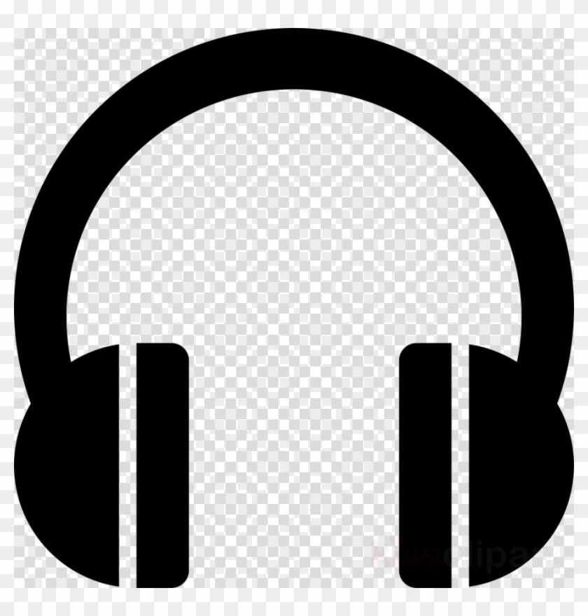 Headphones Pictogram Clipart Headphones Microphone Icon