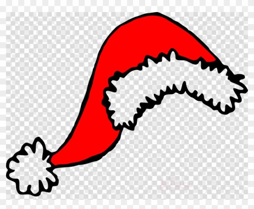 Clip Art Santa Hat Clipart Santa Claus Clip Art - Transparent Background Christmas Hat Clipart #1450424