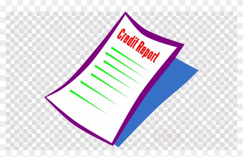 Credit Report Clipart Credit History Clip Art - Clipart Santa Claus Hat #1452250
