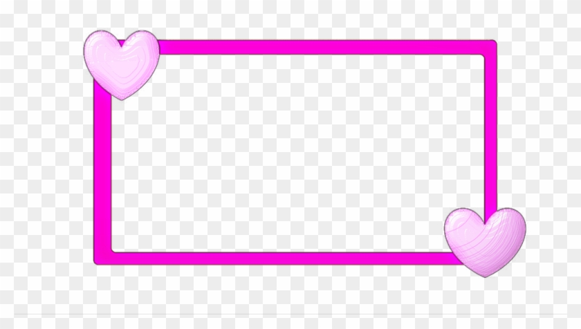 2nd Free Border By Xxbabybluestarxx - Heart Frame Clipart Png #1455350