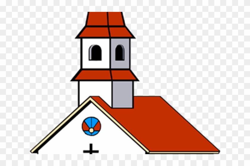 Churches Clipart - Clip Art Church Building #1456068