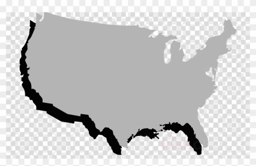 Download Grey Map Of United States Clipart United States - Final ...