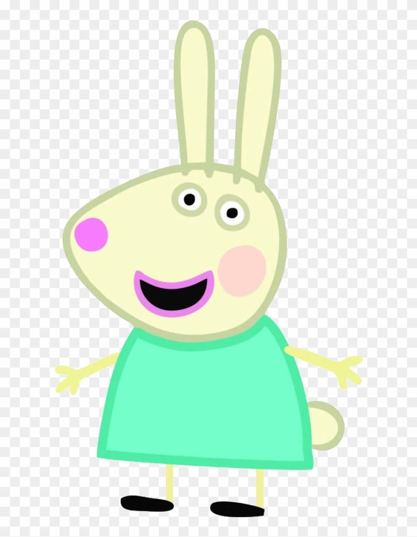 Convites Digitais Simples - Peppa Pig Rebecca Rabbit #226353