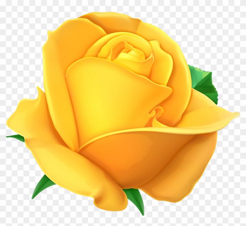 Gelbe Rosen, Clipart, Ausschneidebild, Rosen - Yellow Rose Transparent Background #226456