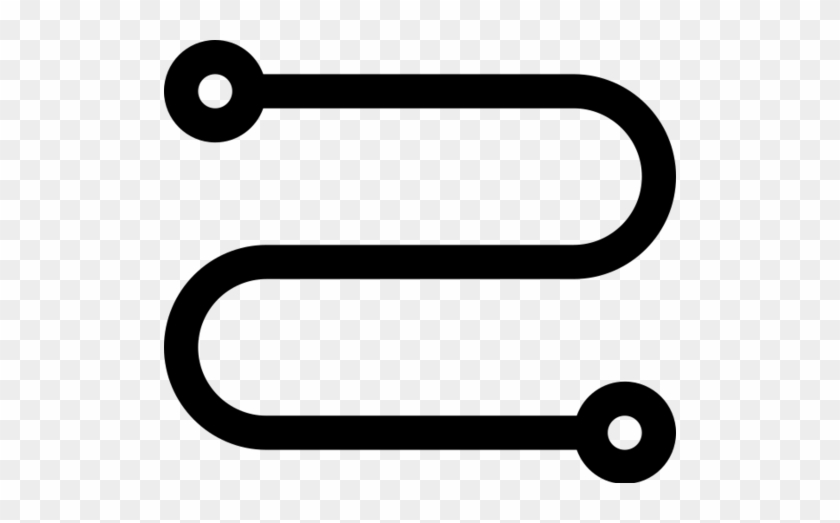 Reise, Route, Reise, Dot, Verbindung, Beziehung Symbol - Road Icon ...