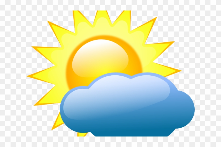 Weather Symbol Cliparts Weather Forecast Partly Cloudy Free