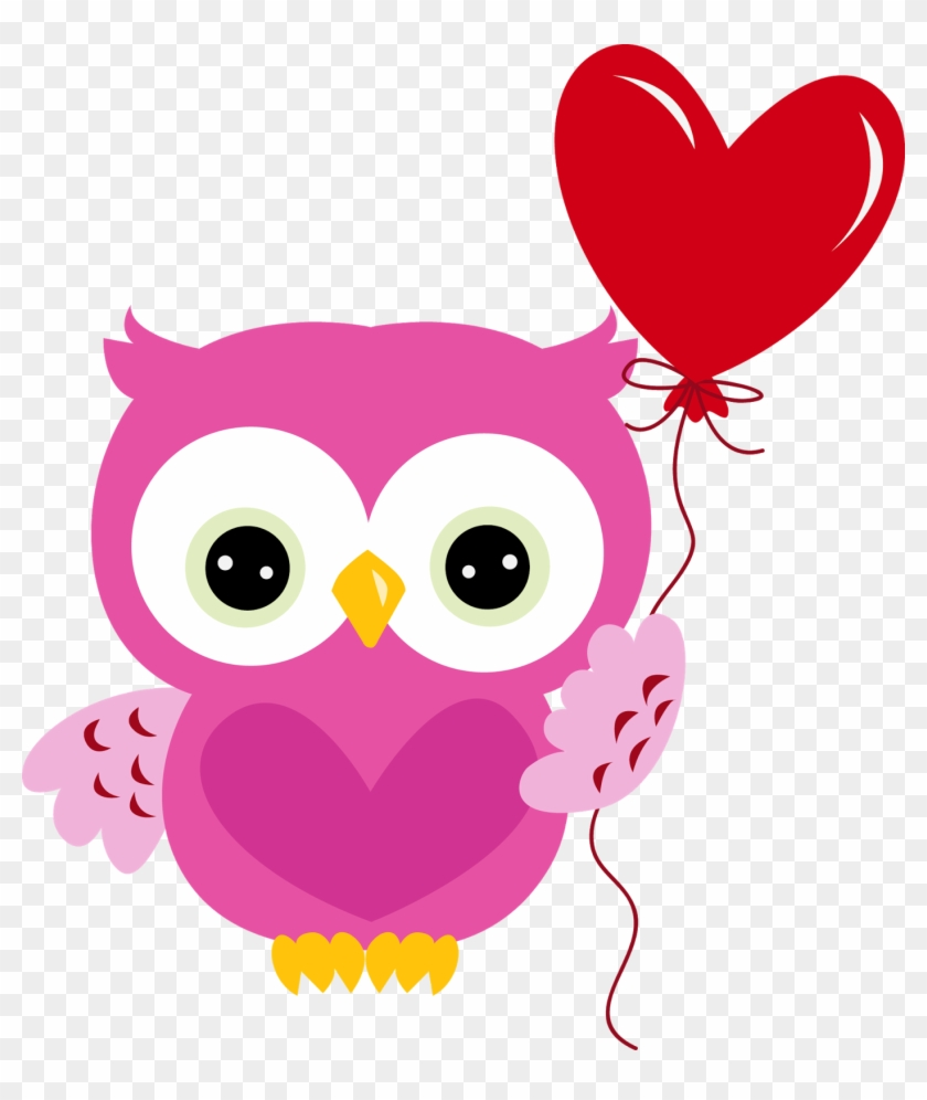 Owl Math Clip Art - Valentines Day Owl Png #226962