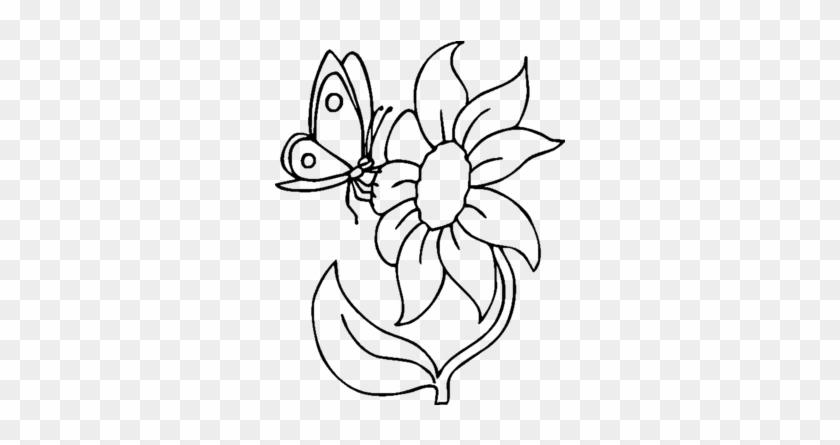 Malvorlagen Schmetterling Und Raupe Zum Drucken - Flower Coloring ...