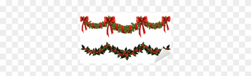 Christmas Garland Vector Free Transparent Png Clipart Images Download
