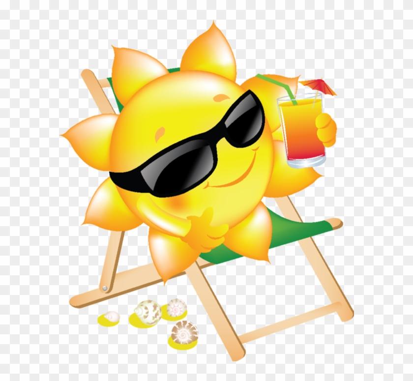 Sol, Lua, Nuvem E Etc - Cartoon Suns #227215