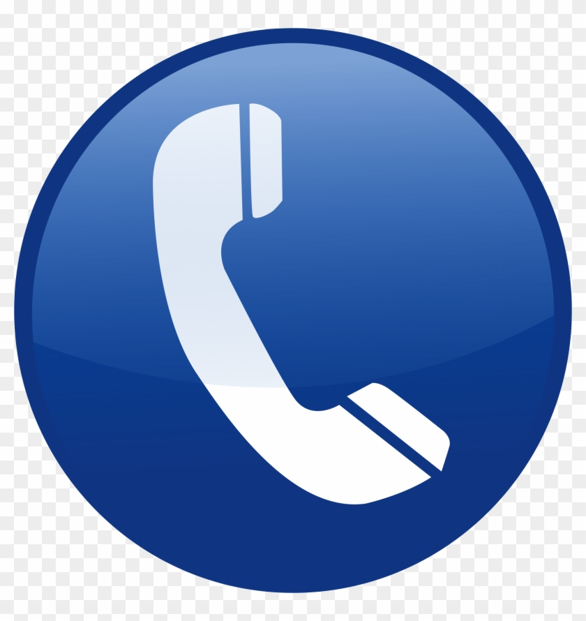Telefono Clipart - Icono De Telefono Azul Png - Free Transparent ...