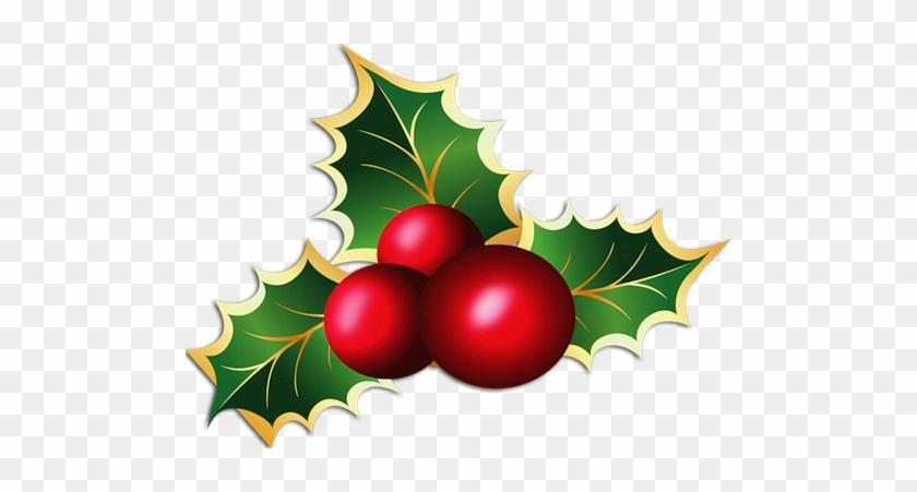 Adornos Navideños Vector - Christmas Mistletoe #227565