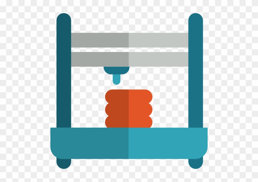 Share And 3d Print Integration - 3d Printer Icon Png #227635