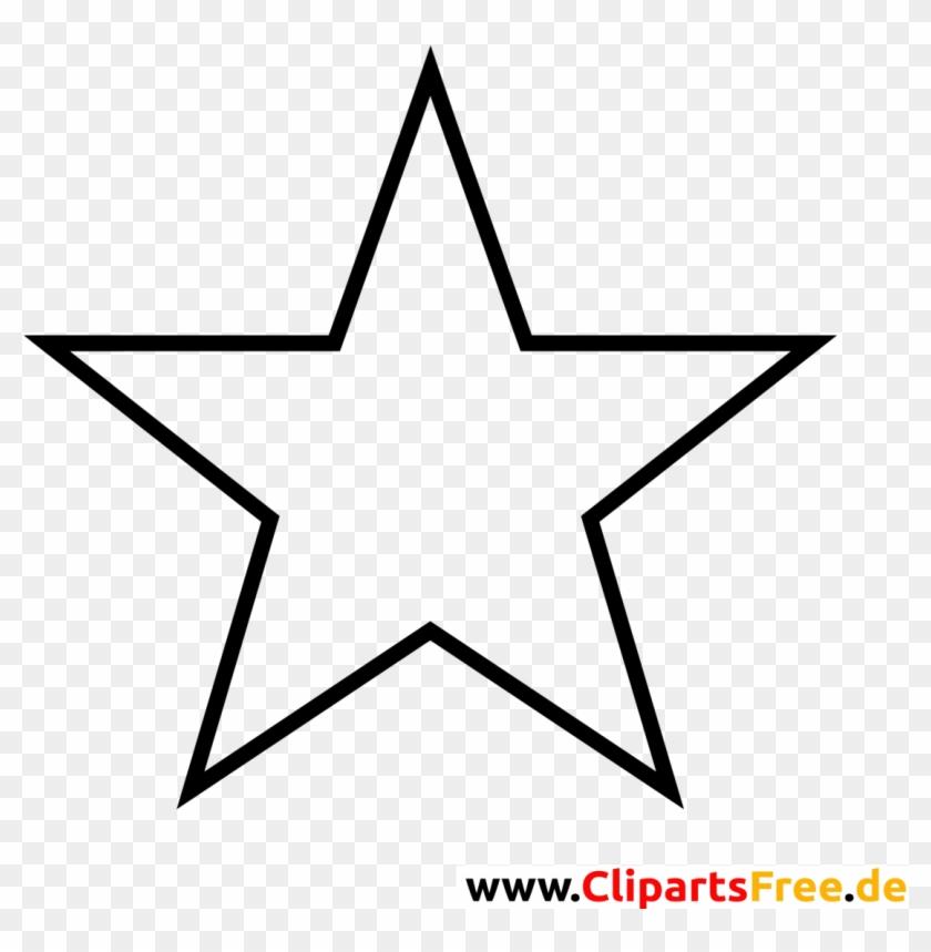 Weihnachten Stern Clipart Schwarz Weiß Kostenlos - Logo Rock Star ...