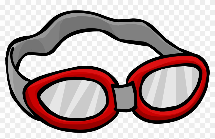 Goggles Clipart - Swimming Goggles Clipart #227932