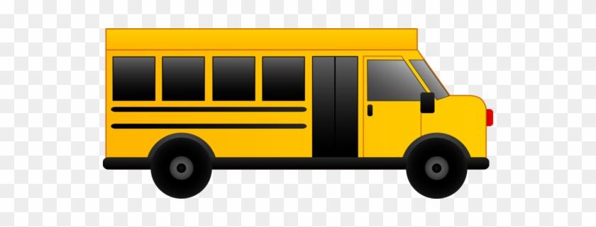 Free Clip Art Of A Little Yellow School Bus - School Bus Vector Art #228093