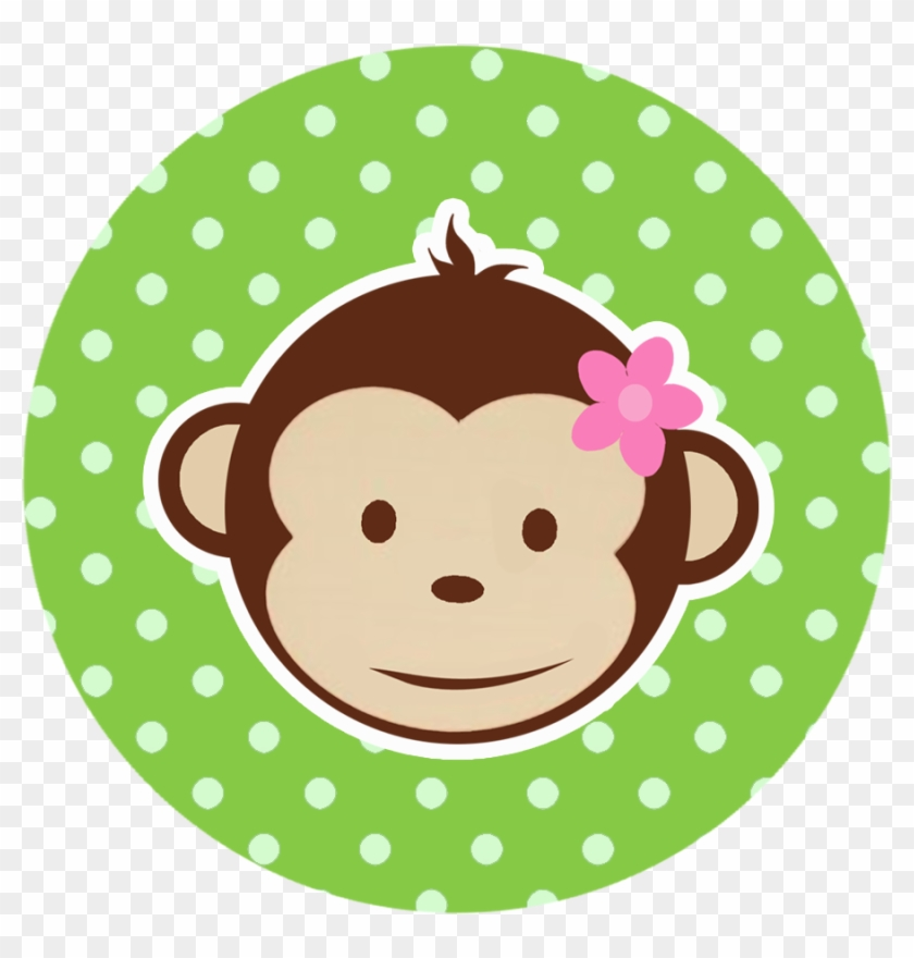 Free Monkey Clip Art Images - Girl Monkey 1st Birthday #228326