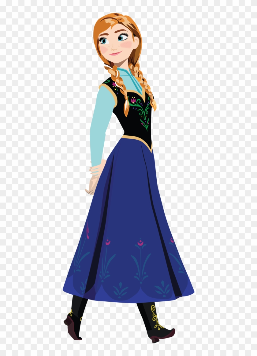 This Is Not My Draw, That's Just A Png - Roommates Frozen Anna Wall Decals #228384