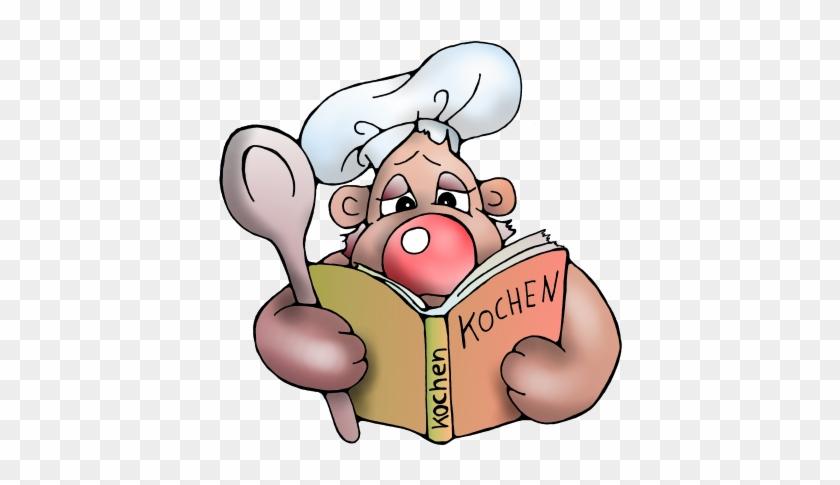 Koch, Kochen, Koeche, Köche, Cook, Kochbuch, Backen, - Kochbuch Comic #228429