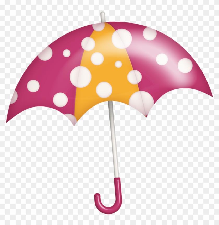 B *✿* Sunshine Rain - Umbrella With Rain Clipart #228551