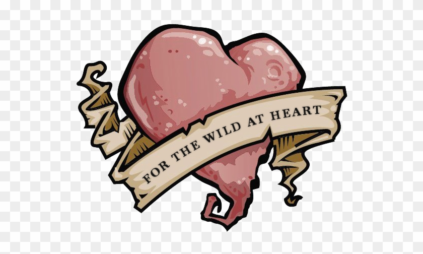 Folgt Mir - Clip Art Metallic Heart Outline Png #229132
