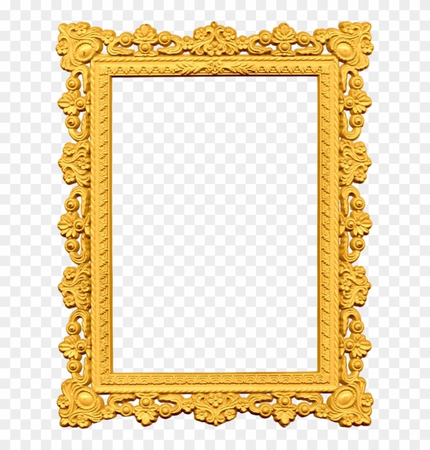 Sammlung, Clipart, Rahmen, Photoshop, Färbung, Führungskräfte, - Gold Picture Frame Png #229396