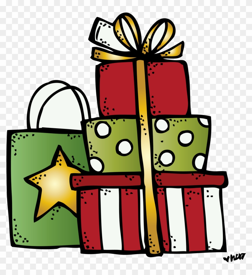 Image Result For Melonheadz Presents - Melonheadz Christmas Clipart #229490