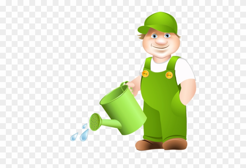 Watering Cans And People - Transparent Watering Can Cartoon Garden Clip Art #229587