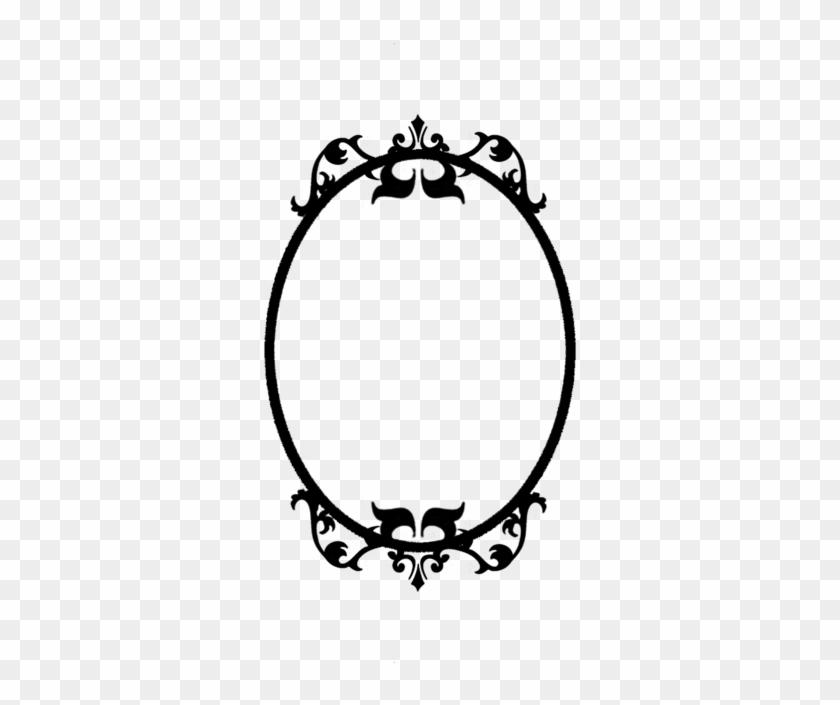 Imagen Relacionada - Art Nouveau Oval Frame #229737